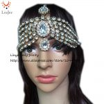 Diamante Kundan Matha Patti <b>Wedding</b> Bridal Goddess Bohemian Boho Head Chain Hair <b>Jewelry</b> Head Piece Bollywood <b>Wedding</b> HC-323