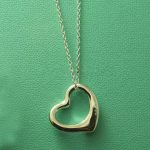 Brief Design Open Heart <b>Necklace</b> Women 100% Genuine <b>silver</b> 925 Jewelry Hot Brand Large Size Pendant 18″ Chain Best Gifts
