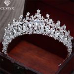 CC Tiaras And Crowns Luxury Baroque Shine Rhinestone Water Drop <b>Wedding</b> Hair Accessories For Bride Engagement Fine <b>Jewelry</b> XY035