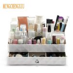 <b>Fashion</b> Make up Organizer Box Beautician Brush Holder <b>Jewelry</b> Organizer Cases Desktop debris <b>Jewelry</b> Makeup Cosmetic Storage Box