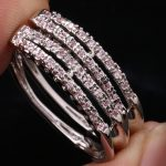 Absorbing Pink Cubic zirconia For Women's <b>Jewelry</b> 925 Sterling Silver Huggie Hoop Earrings Free Shipping S5592