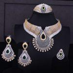 GODKI Luxury Water Drop Women Africa Wedding Naija Bride Cubic Zirconia Choker <b>Necklace</b> Dubai 4PCS <b>Jewelry</b> Set <b>Jewelry</b> Addiction