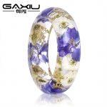 Bracelets & Bangles For Women Fashion Cuff Bangles Personalized Epoxy Resin Dried Flower Bracelet <b>Jewelry</b> <b>Handmade</b> Girl's Gift