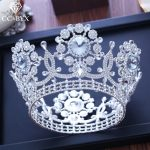 CC big crown tiara luxury high quality shine rhinestone pageant engagement <b>wedding</b> hair accessories for bride <b>jewelry</b> gift XY220
