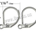 500PCs <b>Fashion</b> DIY Handmade Stainless Steel Lever Back Earrings Wires <b>Jewelry</b>