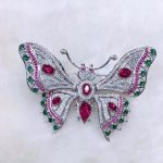 top quality 925 <b>sterling</b> <b>silver</b> with cubic zircon butterfly brooch pins for women <b>jewelry</b> multi color pave stone fashion
