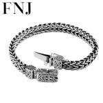 100% 925 <b>Silver</b> <b>Bracelet</b> Anchor Width 8mm Classic Wire-cable Link Chain S925 Thai <b>Silver</b> <b>Bracelets</b> for Women Men Jewelry