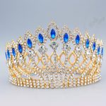Magnificent Gold and Silver Crystal Princess Bridal Tiara Crowns Bride Headpiece Women Diadem <b>Wedding</b> Hair <b>Jewelry</b> accessories