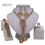 Fani Dubai Gold Color <b>Jewelry</b> Set Women Costume Nigeria <b>wedding</b> <b>Jewelry</b> set Design Fashion African Beads <b>Jewelry</b> Sets Wholesale