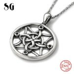 Aliexpress 925 sterling silver diy design special knot chain pendant&necklace European fashion <b>jewelry</b> <b>making</b> for lover gift