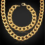 Collare African Ethiopian Jewelry Set For Men Rose Gold/Gold/<b>Silver</b> Color Wholesale Big Chunky <b>Bracelet</b> Necklace Sets S754