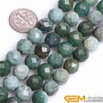 10mm 12mm Faceted Round Natural Green Dragon Blood Jaspers Stone Gem Stone Semi Precious Beads Loose Bead For <b>Jewelry</b> <b>Making</b> 15″
