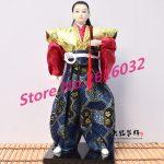 30cm Samurai Japanese humanoid Doll Restaurant <b>supplies</b> gift <b>jewelry</b> ornaments Home Furnishing Restaurant #3612