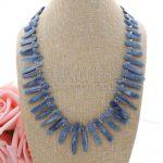 N052505 21″ Natural Kyanite Necklace