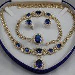 Women's Wedding Crystal Ring Pendant Necklace Stud Earrings Bracelet <b>Jewelry</b> Set Bridal wi real silver-<b>jewelry</b>