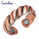 Escalus Wedding Bands <b>Antique</b> Copper Classic Party Round Women Magnetic Ring Resizable Magnet Rings <b>Jewelry</b> Charm Finger Wear