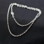 of <b>silver</b> products Thai <b>silver</b> wholesale S925 pure <b>silver</b> ornaments atmosphere O in both men and women <b>necklace</b>