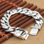 Wholesale S925 <b>Sterling</b> <b>Silver</b> <b>Jewelry</b> Big Mouth Male Thai <b>Silver</b> Bracelet Trend New <b>Silver</b> Chain Style