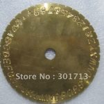 Fonts Dials for Inside Ring Engraving Machine, <b>jewelry</b> tools , ring <b>making</b> tools.High Quality .Low Price .Dropship.