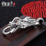 Domineering dragon pendant Beier 925 <b>silver</b> sterling animal pendant <b>necklace</b> fashion Jewelry A1162