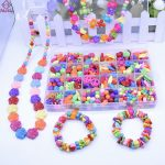 2018 <b>Fashion</b> DIY Beads Box Set Children Handmade Candy Color Acrylic Bead for <b>Jewelry</b> Making Necklace Bracelet Fun Kids Gift Toy