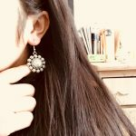 India Retro Mandala Earrings Handmade <b>Antique</b> Silver Tribal <b>Jewelry</b> BOHO Hippie Wind Pakistani Muslim Thailand Nepal