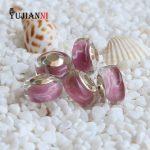 <b>Handmade</b> Wish Glass Charms Beads High Quality 925 Sterling Silver <b>Jewelry</b> 4.5mm Hole Fit Original Troll Bracelet & Necklace
