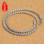 925 <b>Sterling</b> <b>Silver</b> Rope jadoku retro necklace <b>silver</b> <b>jewelry</b> fashion folk style goods wholesale on behalf of