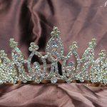 Awesome Bridal <b>Wedding</b> Tiaras 3″ Headband Gold Crowns Clear Crystal Rhinestone Prom Party Beauty Pageant Hair <b>Jewelry</b>