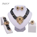 Fani Dubai Gold-color <b>jewelry</b> Crystal nigerian Wedding Women Bridal Accessories Fashion African Beads <b>Jewelry</b> Set Costume Design