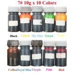 KiWarm 10 Colors 10g Epoxy UV Resin Coloring Dye Colorant Pigment for <b>Jewelry</b> <b>Making</b> Silicone Mold DIY Handmade Crafts Accessory