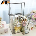 AF 2018 Clear <b>Fashion</b> Makeup Organizer Storage Box <b>Jewelry</b> Container Organizer For Cosmetic Storage Box Case c218-33