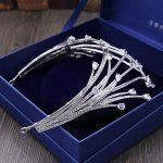 Full Zircon Large Tiara Copper Zircon Tiaras Micro Pave CZ Bride Crown <b>Wedding</b> Hair <b>Jewelry</b> Diadem Mariage Bijoux Coroa WIGO1040