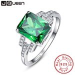 Classic 10.75ct Nano Russian Emerald Ring Emerald Cut Solid 925 <b>Sterling</b> <b>Silver</b> Ring Set Best Brand Fine <b>Jewelry</b> For Women