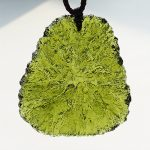 Free shipping Free shipping <b>necklace</b> Natural crystal moldavite pendant luo dan nunatak mdash . energy