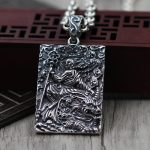 S925 <b>silver</b> Buddha Pendant hell is not empty until domineering male army <b>Necklace</b> <b>Silver</b> tag