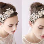 TUANMING Pearl Crystal Gold headbands Headpiece Rhinestone Wedding Bridal Tiaras Wedding <b>Jewelry</b> Hairbands Bridal headpiece