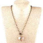 MOODPC Fashion Bohemian Tribal <b>Jewelry</b> <b>Antique</b> bronze Long Chain Crystal Pendant Necklace