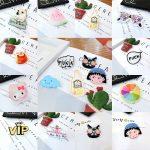 LNRRABC New 2PCS Fashion Cute Pretty Acrylic Collar Pin Badge Corsage Cartoon Brooch <b>Jewellery</b> DIY <b>Decor</b>