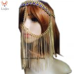 Sexy Luxury <b>Fashion</b> Women Punk Multi Layer Metal Head Chain <b>Jewelry</b> Forehead Headband Hair Piece Body <b>Jewelry</b>