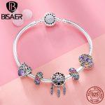 925 <b>Sterling</b> <b>Silver</b> Bracelets Dreamcatcher Holder Crystal Femme Bracelets & Bangles for Women Authentic <b>Silver</b> <b>Jewelry</b> ECB809