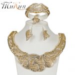 MUKUN Fashion Exquisite African Dubai <b>jewelry</b> sets luxury gold Color big Nigeria bridal bead wedding <b>Jewelry</b> sets Women costume