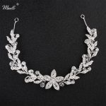 Miallo 2018 Newest Austrian Crystal Flower Headbands Women Hair Vine Wedding Hair Accessories Handmade Headpieces <b>Jewelry</b> Tiara