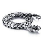 Fashion solid 925 sterling <b>silver</b> <b>necklace</b> pendant for men Retro Thai <b>silver</b> 5 mm61cm dragon <b>necklace</b> ..Male <b>silver</b> jewellery