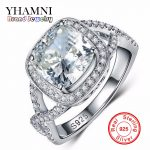 Big Promotion 100% 925 <b>Sterling</b> <b>Silver</b> <b>Jewelry</b> Wedding Rings For Women Sona CZ Diamant Engagement Ring RING SIZE 5 6 7 8 9 R2903