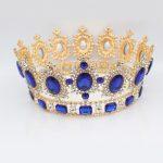 Luxurious <b>Silver</b>/Gold Crystal Baroque Wedding Bridal Tiara Crowns Women Party Diadem Headpiece Bride Hair <b>Jewelry</b> Accessories