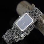 Lady New Limited Edition Classic Elegant S925 <b>Silver</b> Pure Thai <b>Silver</b> Women <b>Bracelet</b> Watches Thailand Square Rhinestone Bangle