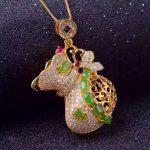 natural green jasper pendant S925 <b>silver</b> Natural gemstone Pendant Necklace trendy Elegant big wallet women girl party <b>jewelry</b>