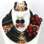 Unique <b>Handmade</b> Flower Brooch African Wedding Costume <b>Jewelry</b> Set Crystal Bridal African Women <b>Jewelry</b> Set Free Shipping WA619