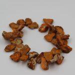 Full Strand Orange Sediment Imperial Emperor Beads Stone Beads One Strand 15″/Diy For <b>Jewelry</b> <b>Making</b> AAA Quality